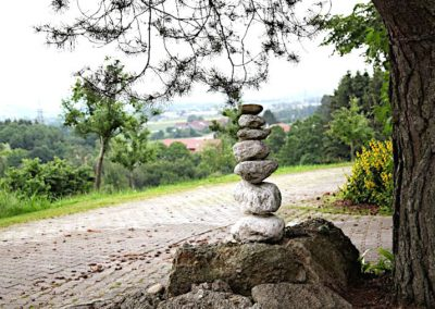 Steinskulptur in Postmünster